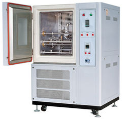 Stainless Steel Rubber Testing Machine , Vertical Freezing Leather Flexing Testing Equipment