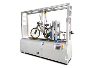 Electronic Bicycle Testing Machine / Bicycle Simulation Dynamic Road Performance Tester