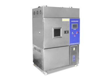 Cina 2.0KW Stainless Steel Xenon Test Chamber, Sunlight Simulasi Xenon Arc Testing Machine Distributor